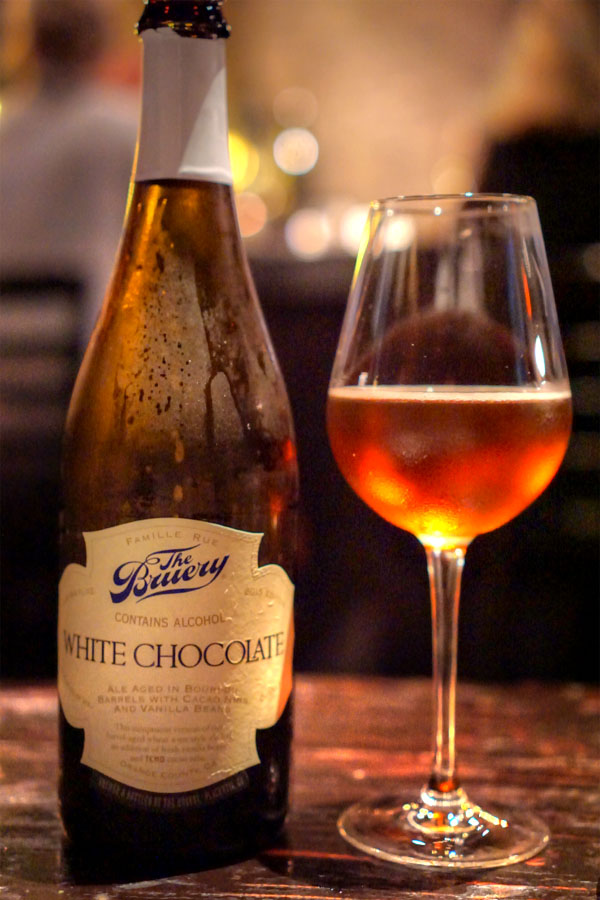 2015 The Bruery White Chocolate