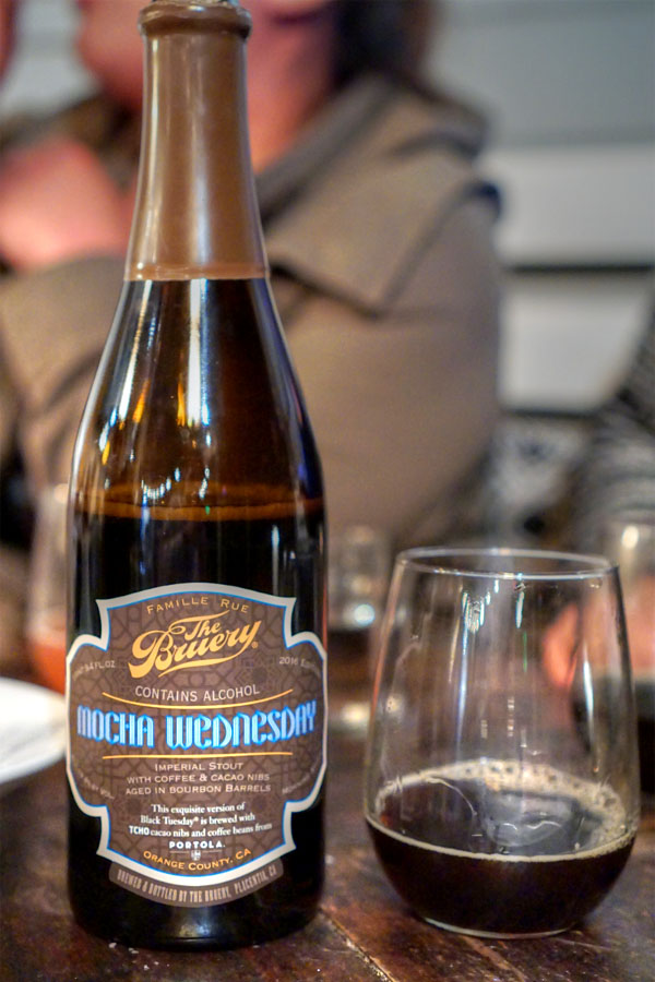 2016 The Bruery Mocha Wednesday