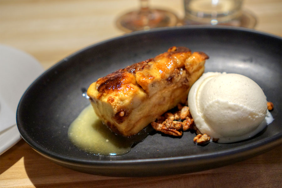 Grand Marnier Bread Pudding