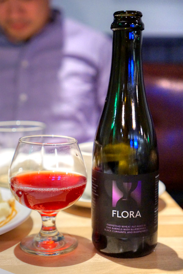 2015 Hill Farmstead Flora Blueberry/Black Currant/Raspberry