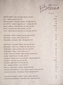 Officine Brera Wine List: White