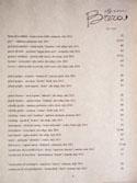 Officine Brera Wine List: White
