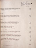 Officine Brera Wine List: White / Rose / Red