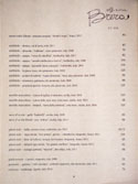Officine Brera Wine List: Red