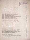 Officine Brera Wine List: Red