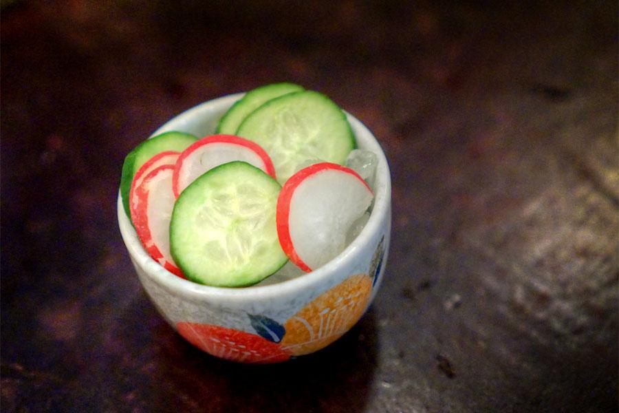 Cucumber & Radish