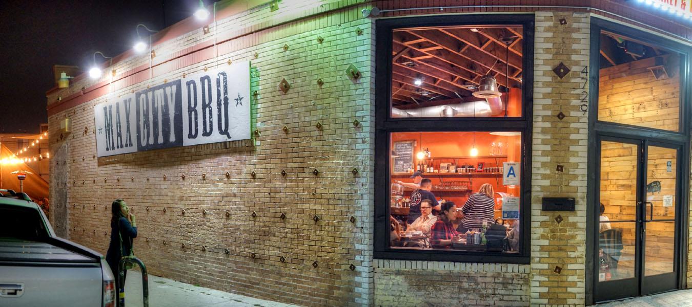 Max City BBQ Exterior