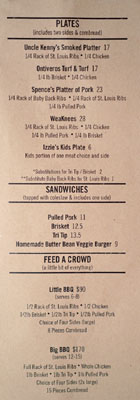 Max City BBQ Menu: Plates | Sandwiches | Feed a Crowd