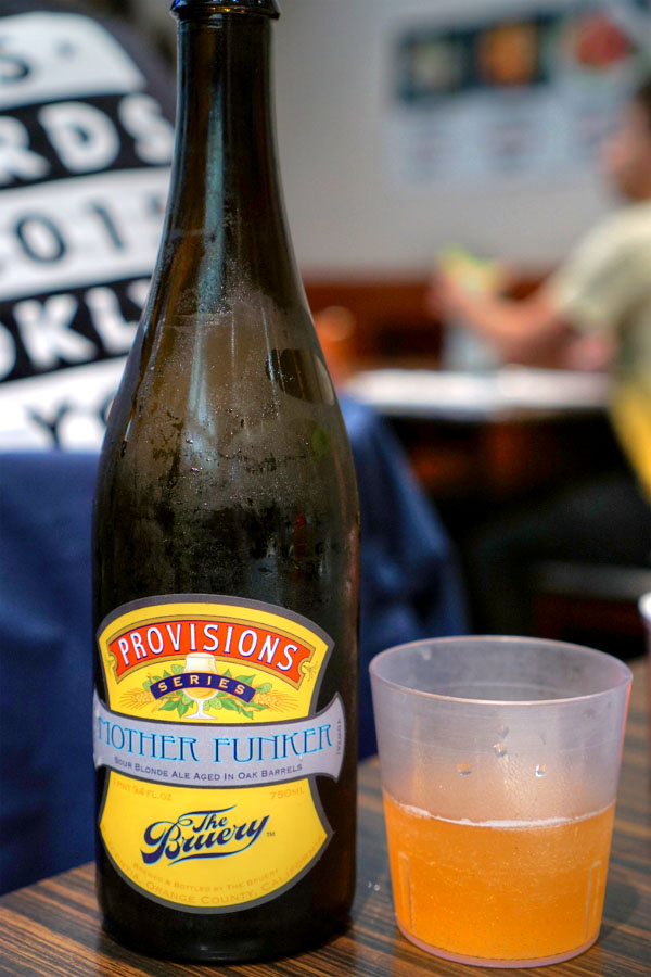 2012 The Bruery Provisions Series: Mother Funker