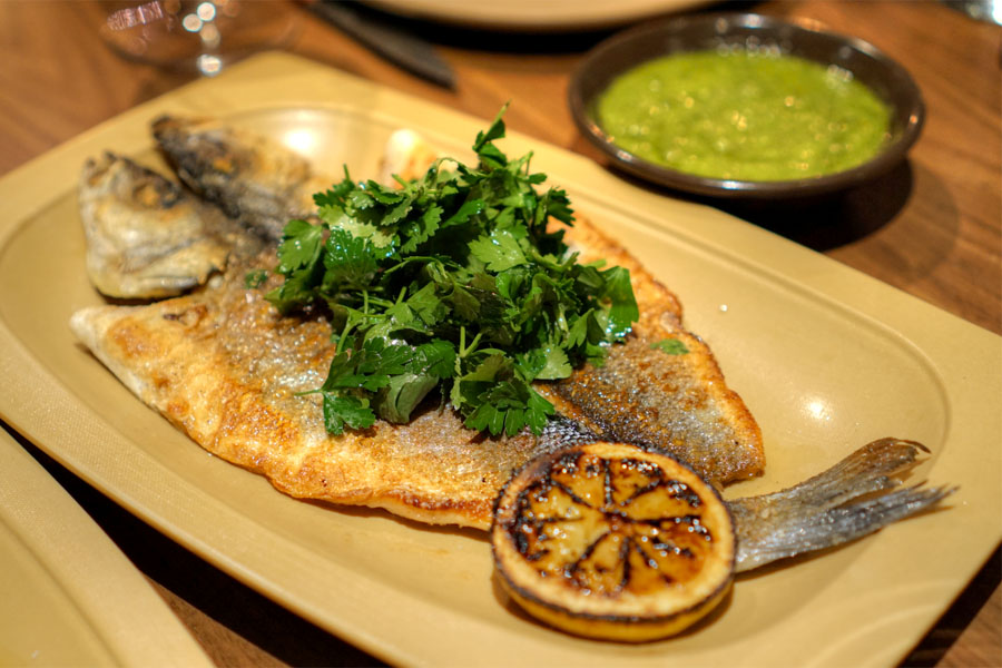 Whole Fish a la Plancha