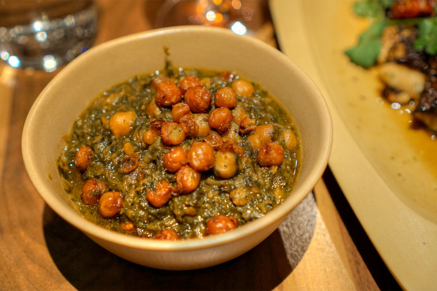Spinach & Chickpeas