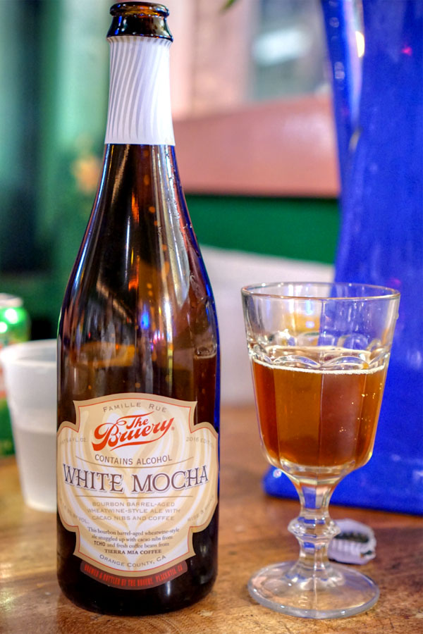 2016 The Bruery White Mocha