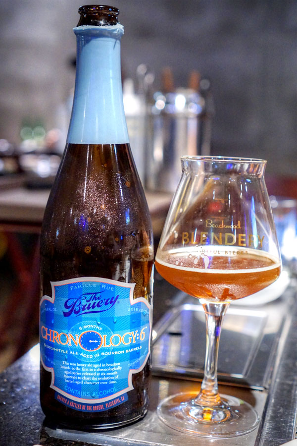 2016 The Bruery Chronology:6 Wee Heavy