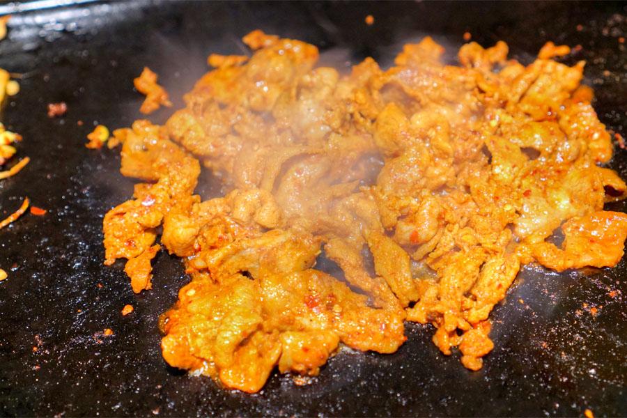 Maneul Dwaeji Bulgogi (Cooked)