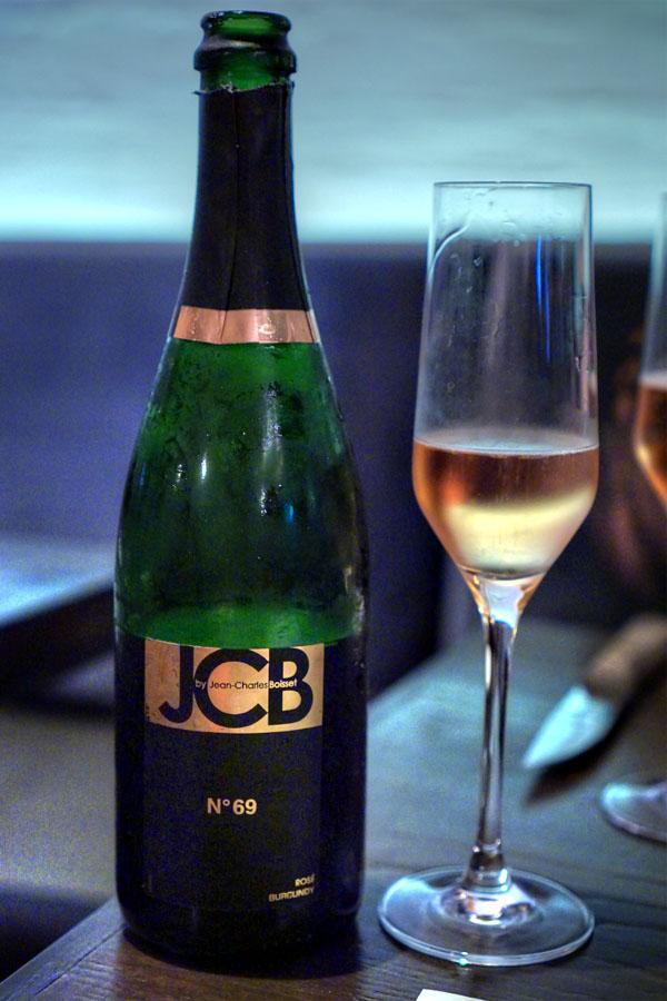 Cremant de Bourgogne Rose, 'no. 69', jean-charles boisset, burgundy, france