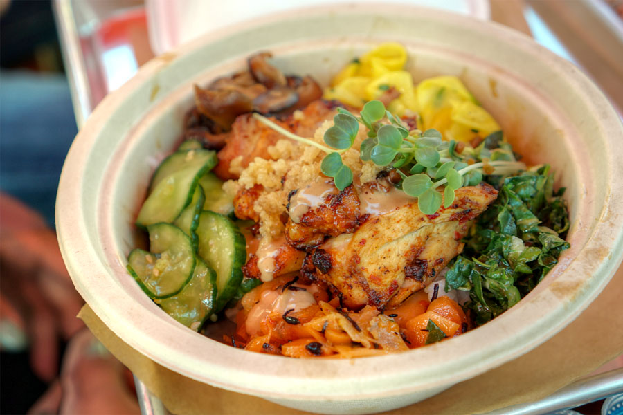 Spicy Chicken Rice Bowl