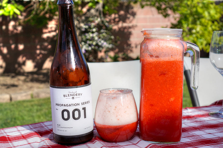 Strawberry-Lemon Shandy with 2015 Beachwood Blendery Propagation Series: No. 001