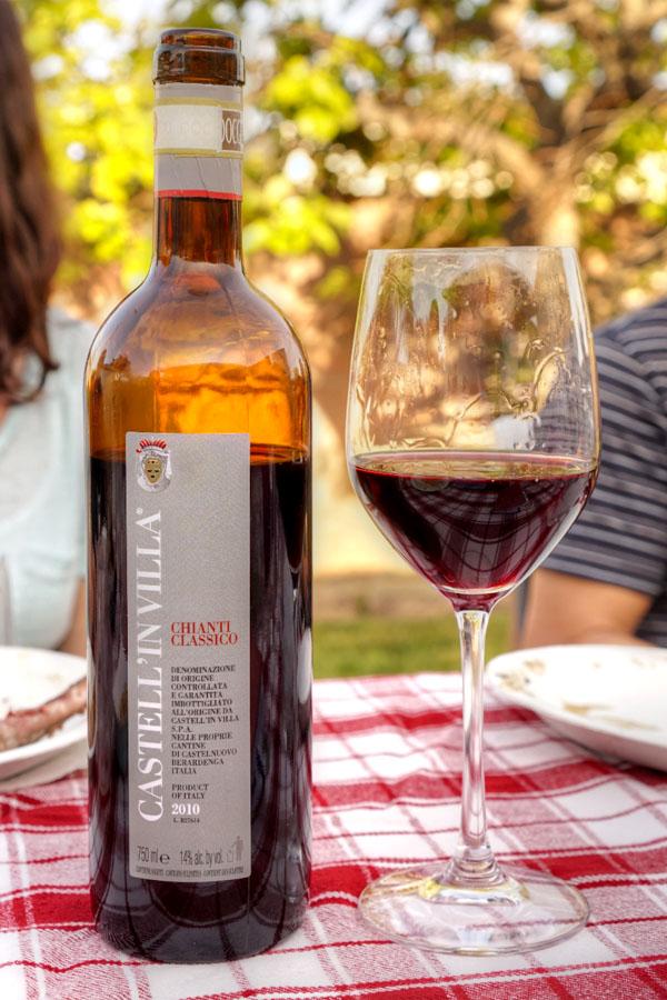 2010 Castell'in Villa Chianti Classico