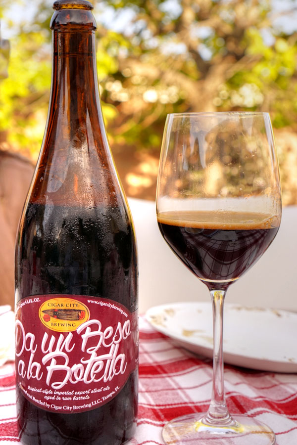 2014 Cigar City Da un Beso a la Botella