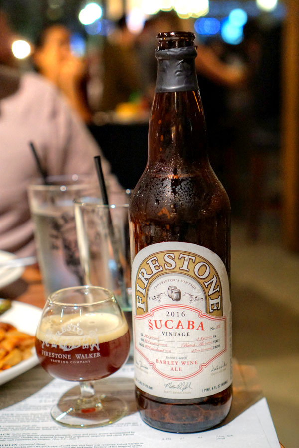 2016 Firestone Walker Sucaba