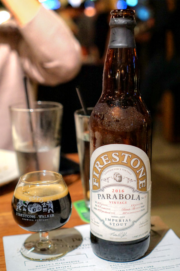 2016 Firestone Walker Parabola