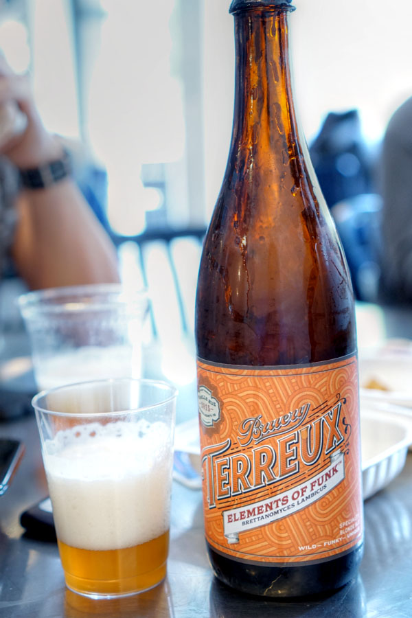 2015 The Bruery Terreux Elements of Funk: Brettanomyces Lambicus