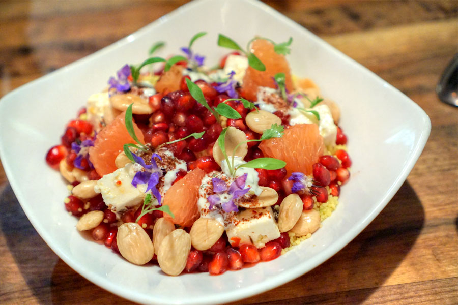 POMEGRANATE COUSCOUS