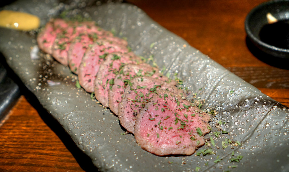 Wagyu Tongue Pastrami