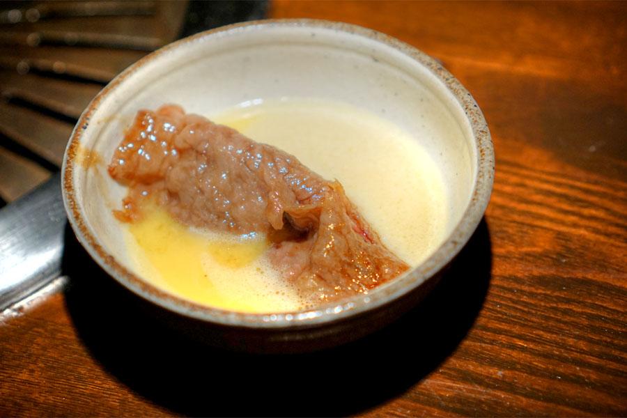 Yazawa-Yaki (In Sukiyaki Sauce)