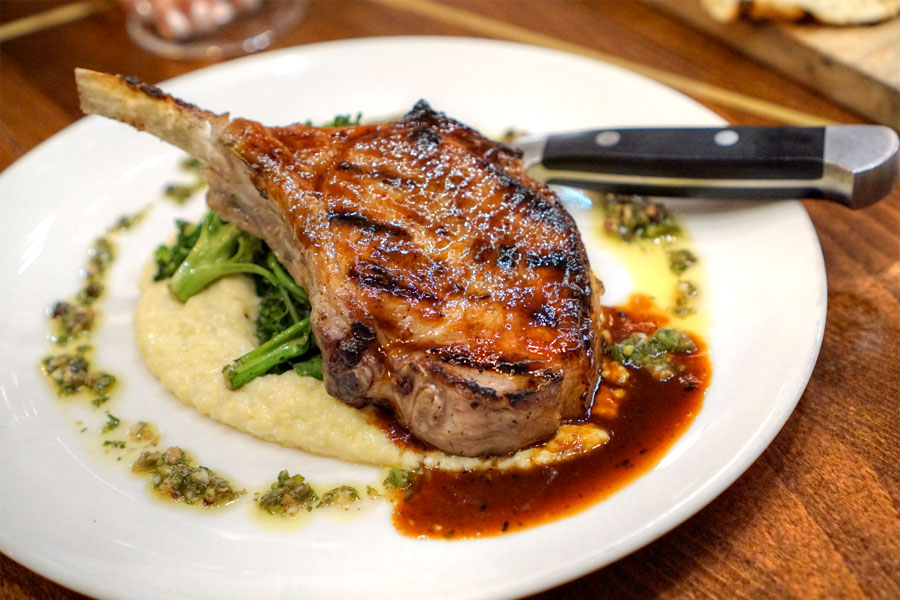 Wood Roasted Pork Chop