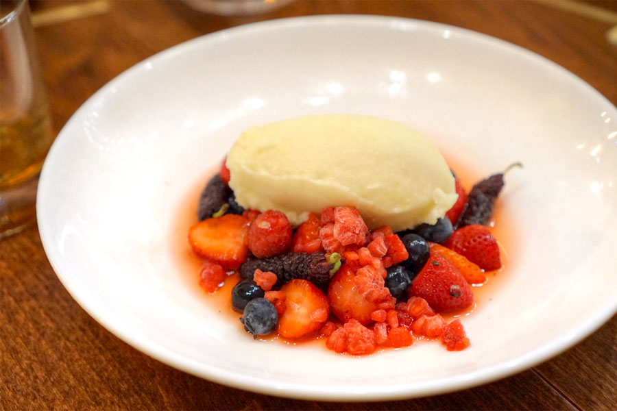 Berry and Sorbet
