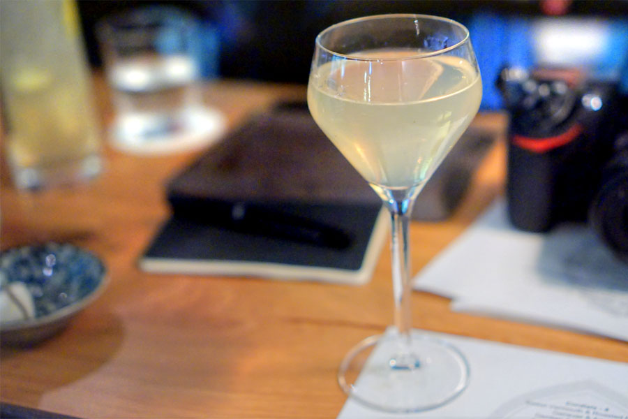 Umami Martini - Gin, Sake Aromatic, Seaweed Extraction