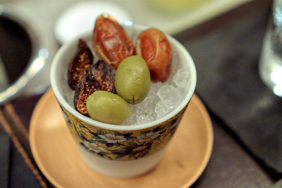 Olives, Dates, Figs
