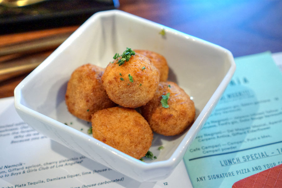 Braised Bacon Arancini