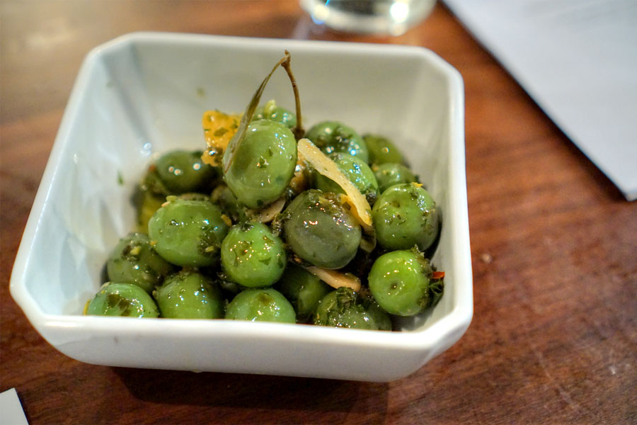House Marinated Olives
