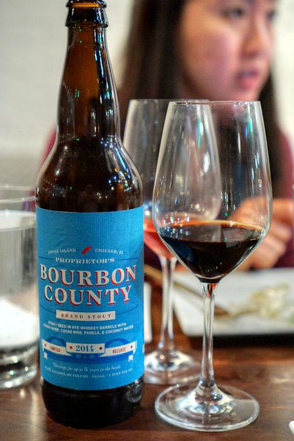 2014 Goose Island Proprietor's Bourbon County Brand Stout
