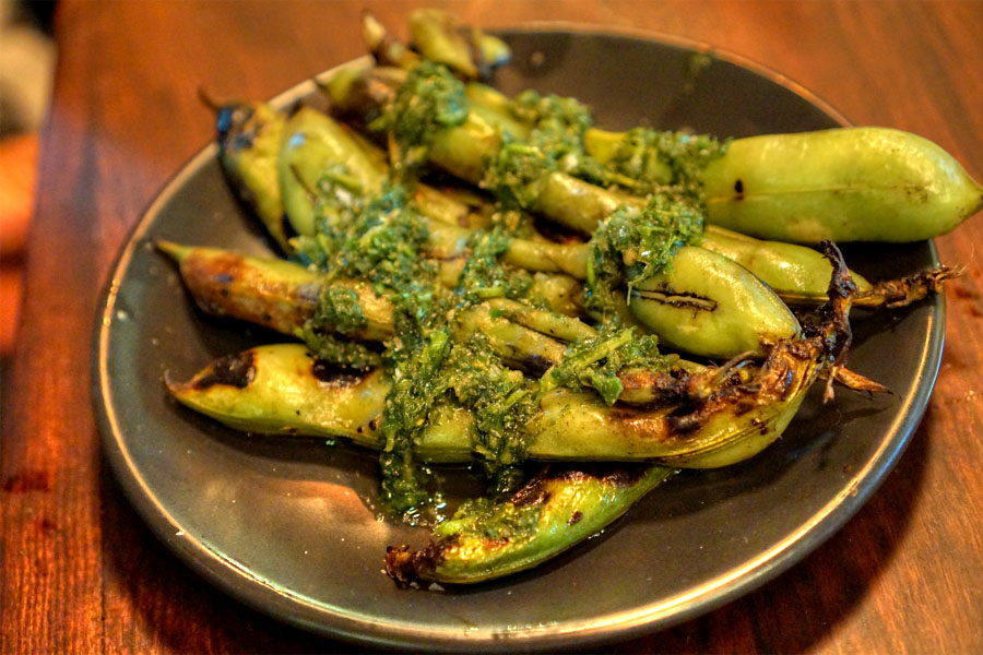 Grilled Fava