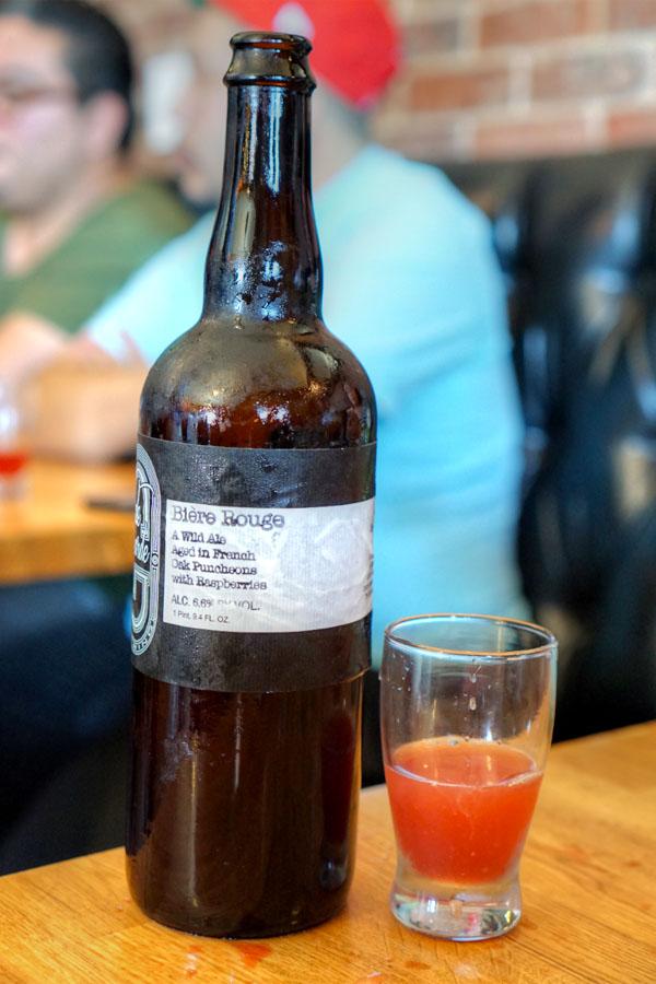 2015 de Garde Biere Rouge