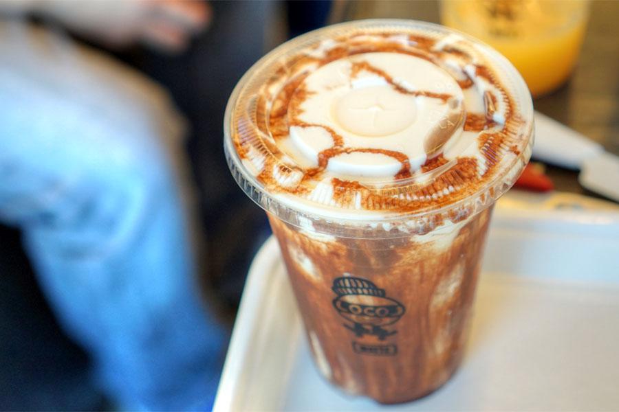 Jeremiah's Coffee Mocha Milkshake
