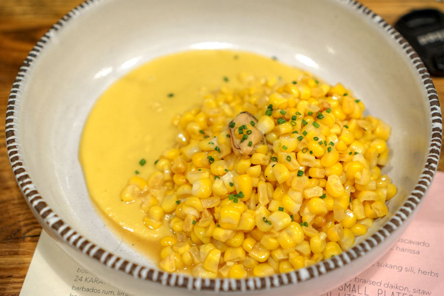 Ginataan Corn