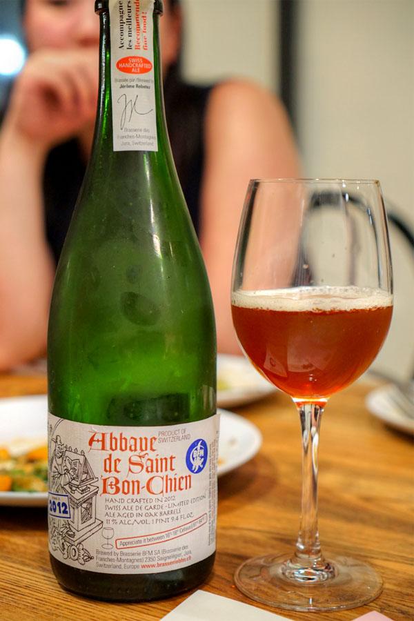2012 Brasserie des Franches-Montagnes Abbaye De Saint Bon-Chien