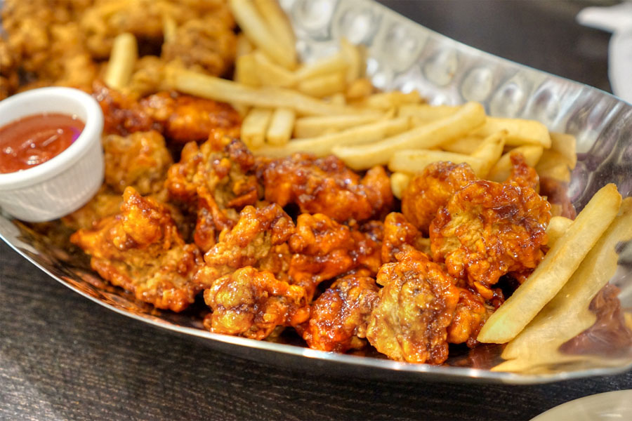 Hot Spicy Chicken (Bone-in Half Order)