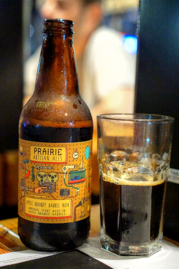 2016 Prairie Apple Brandy Barrel Noir