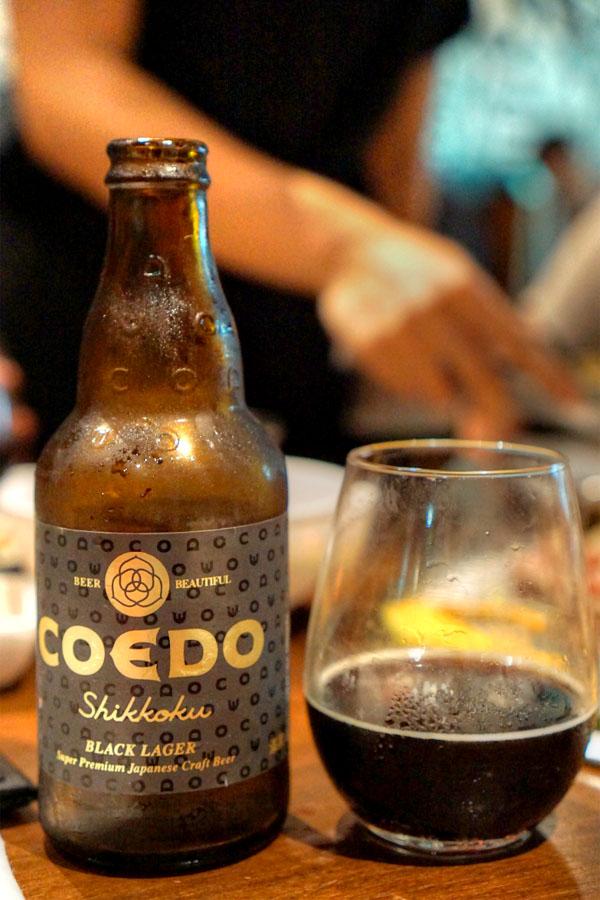 Shikkoku Black Lager, Coede Brewery, Japan
