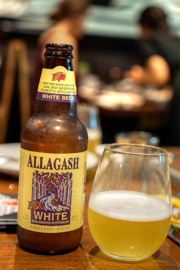 Allagash White Ale, Portland, Maine