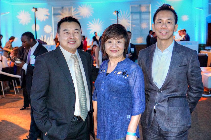 Phil Cheng, Kelly Yang, Charlie Wu