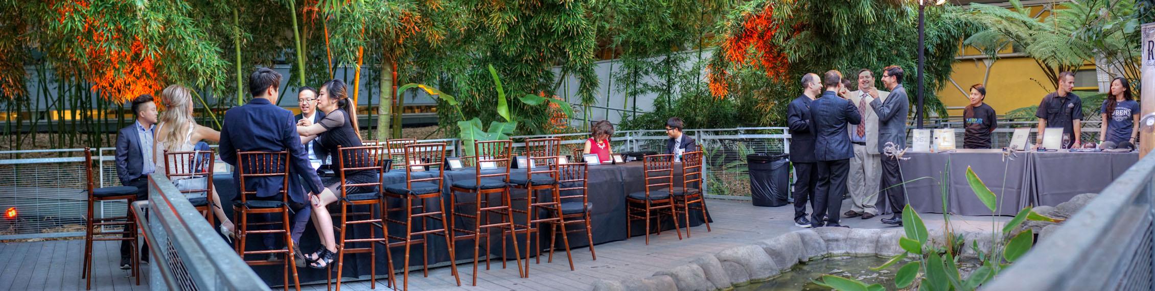 Wallis Annenberg Building: Bamboo Garden