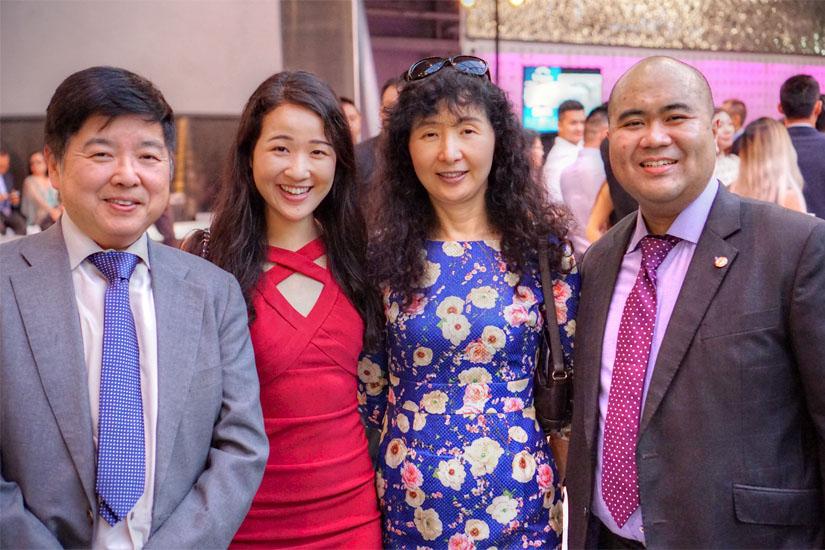 Jeremy Li, Lori Li, Maria Li, Michael Lumunsad