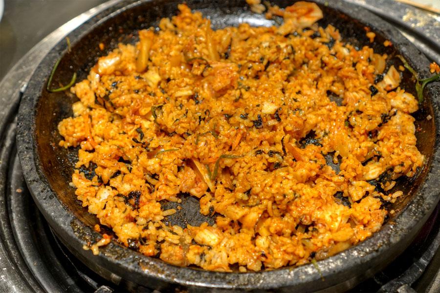 Kimchi Bokkeumbap (Finished)