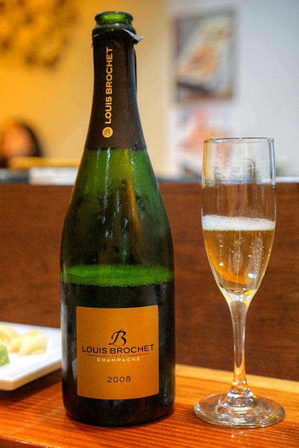 2008 Louis Brochet Champagne 1er Cru Brut Millésimé